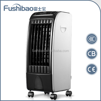 High quality Portable 5L standing Evaporative Room Air Coolers with 3D Cooling Pad