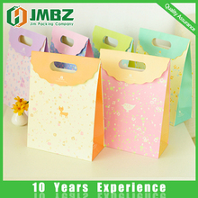 Recycled wholesale handmade paper bags with handles