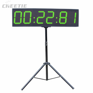 Professional Outdoor 9 Inch Green Large Sports Events LED Marathon Countdown Clock