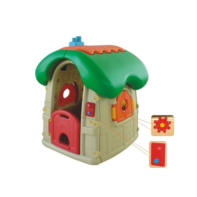 Mini plastic game playhouse toys for kids