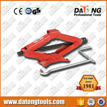 1 Ton Scissor Lifting Car Jack Mechanical