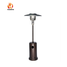 New design Portable Infrared Patio Heater for Outdoor Use, hammered golden outdoor gas patio heater. outdoor heater gas