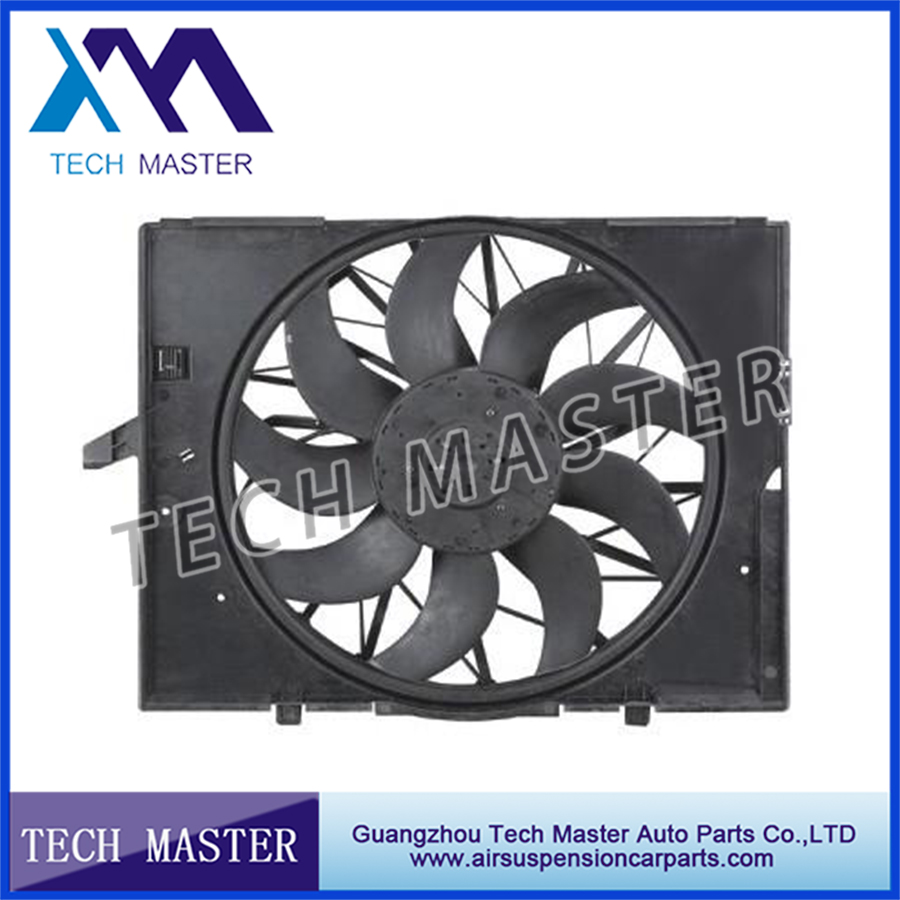 Auto Engine Radiator Cooling Fan For BMW E60 DC 12V Motor Radiator Fan 17427543282 / 17427514181