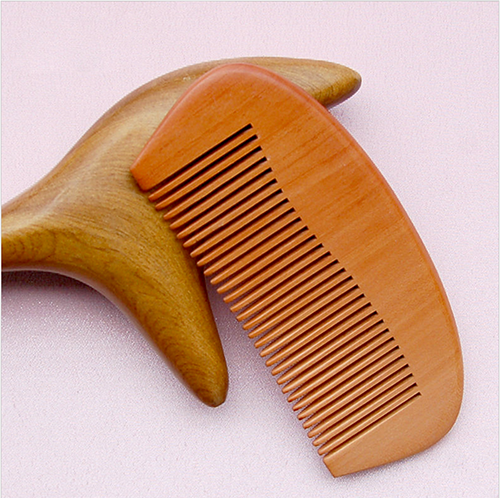 Quality Peach wood comb Fine hair Comb Mens Comb no static