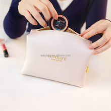 Wholesale Waterproof PU women's Cosmetic bag,Customized Logo Makeup Bag with Zipper