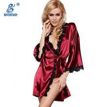 Latest women short nightgown silk nightwear nighty designs