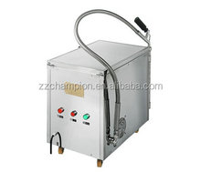 cooking oil filtration system used for catering business