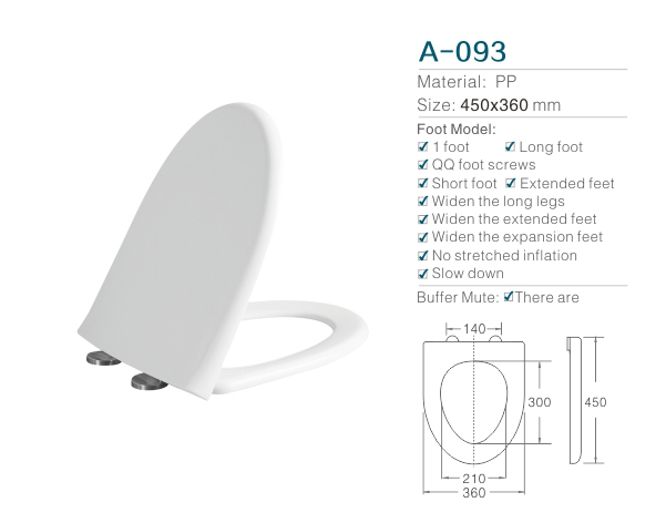 Hot sale Soft Close V shape Toilet Seat/chaozhou white plastic toilet seat cover with soft closet