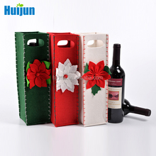 Wholesale custom Christmas wedding available wine packaging bag
