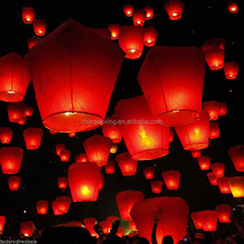 chinese hot air balloon biodegradable luminary sky lantern paper lantern with factory price