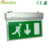 HT-B211/13L rechargeable led light double sided led elevator Emergency light led safety sign Exit