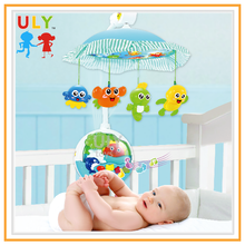 R/C musical projector sleeping light mobile baby mobile hanger musical projector sleeping baby light with music