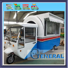 2017 Top quality scooter trailer mobile food vending trailer