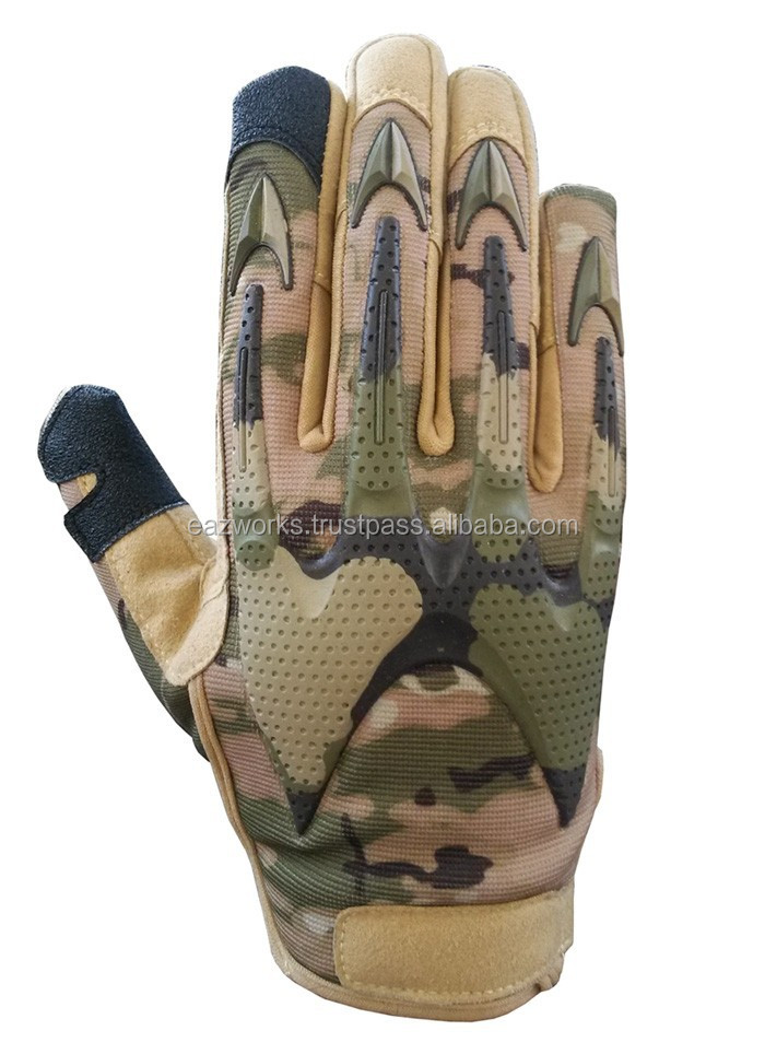 Army Full Finger Airsoft Combat Hunting Tactical Gloves outdoor