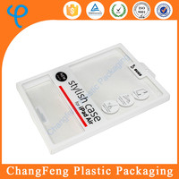 High Clear PET transparent plastic packaging box for ipad air case