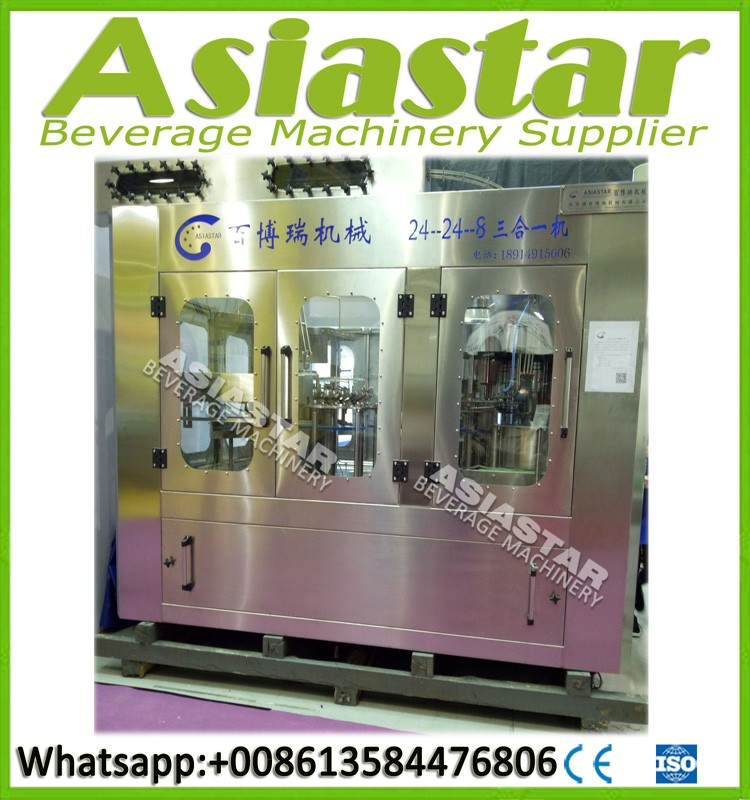 New pharmaceutical liquid filling machine water making line
