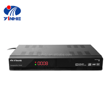 2017 eCos OS Twin Tuner 16Mb Flash 256Mb DDR MPEG-4 1080P Digital Combo Receiver Set Top Box