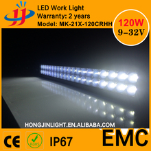 China top manufacturer factory price 120w aluminum housing led light bar light bars for trucks led