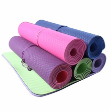 Free Shipping Workout Exercise Gym Fitness 6MM Thick Non-slip Yoga Mat