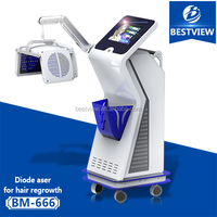 2016 newest 670nm hair growth high frequency machine