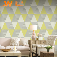 Interior Wall Decoration Vinyl Texture Modern Wallpaper