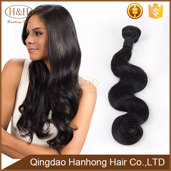 Hot selling products beauty curly nature body wave 100%virgin brazil human hair extension