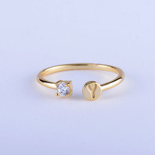 Wholesale Factory 18K Simple Gold Ring Design Diamond Engagement And Wedding Ring Jewelry