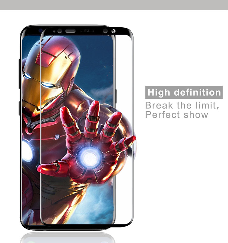 For Note 9 Tempered Glass, for Samsung Galaxy Note 9 Tempered Glass Screen Protector 3D Full Curved