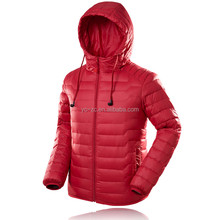 OEM service fashion lady pu leather jacket red outdoor winter clothes blazer