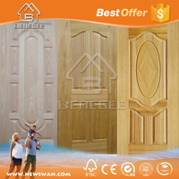 wood veneer door skin / door skin price / door skin plywood home depot