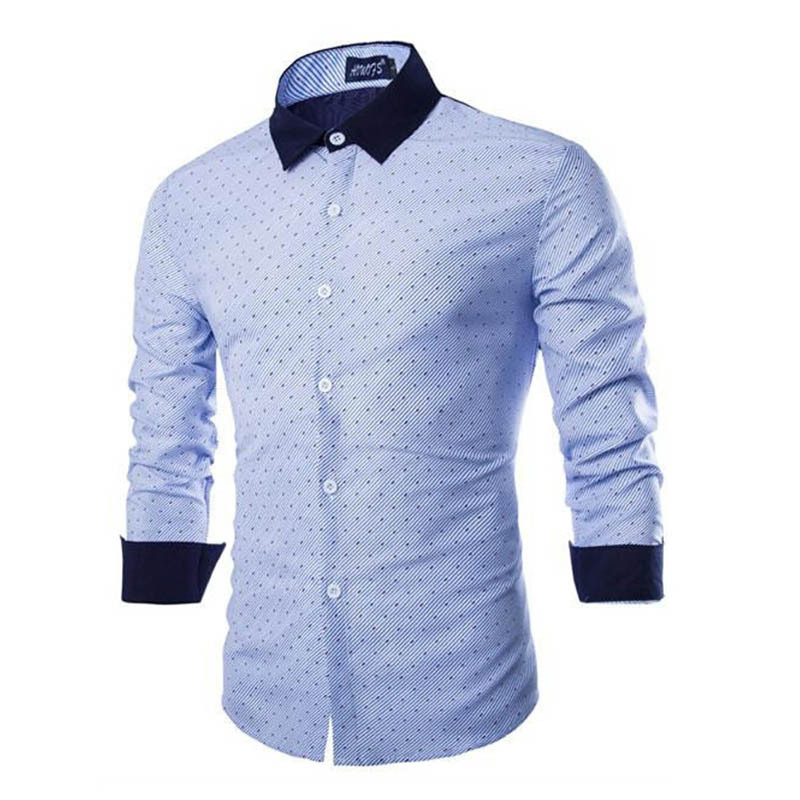 New Arrival Men Dress Shirts Long Sleeve Fashion Brand 2015 Casual Slim Tops Male Stylish Hit Color Design Shirts 2015 ZHY1981
