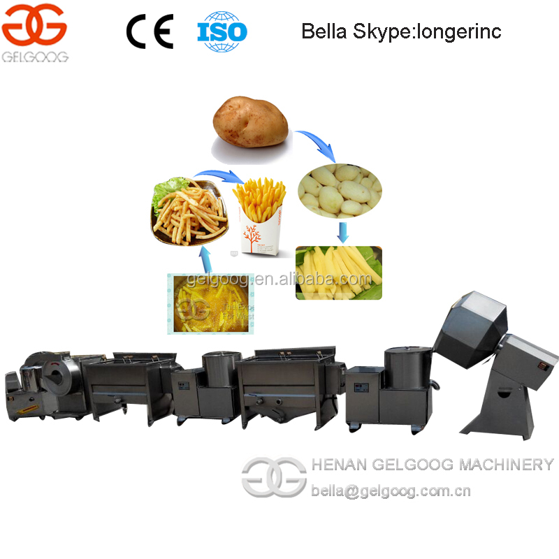 High Quality Stainless Steel French Fries/Potato Chip Making Machine