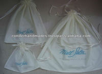 Custom Printed Cotton Drawstring Bags for Promotions, Gifting, Stores