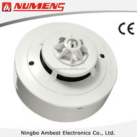 High Quality Fire Alarm System 2-Wire Conventional Fixed and Rate of Rise Heat Detector
