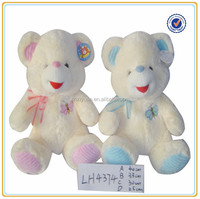 Wholesale plush teddy bear with customized animal pattern or own logo