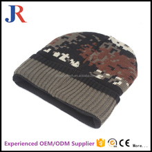 Hot sale high quality cheap beanie hat with fleece velvet lining