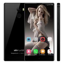 hot sale original unlocke 4G LTE 3GB 32GB mobile phone VKWORLD MIX PLUS 5.5 inch smartphone with dual 2.5D glass