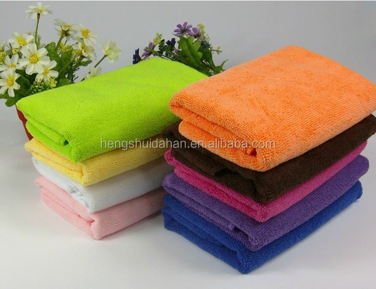 70% polyester 30% polyamide/100%polyester microfiber towel/wash cloth/cleaning cloth