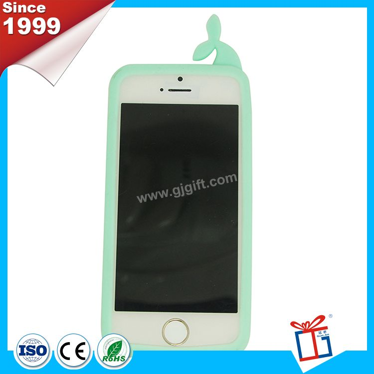 New famous custom silicone rubber cell phone case