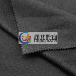 wool fabric deep gray