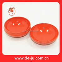 Orange body cosmetic container seal airtight round aluminum box