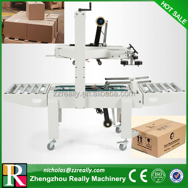 Adhesive tape top and bottom case sealer/carton sealer/carton sealing machine