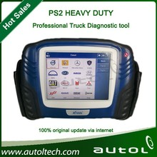 PS2 truck tool scanner heavy duty diagnostic tool for diesel vehicles for volvo ,scania ,daf,iveco,benz,man ect with Wireless