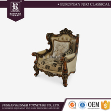 French provincial living room furniture sofa set , furniture living room sofa fabric sectional sofa