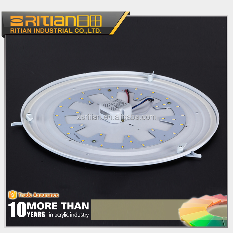round PS light diffuser board for LED fixture light