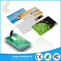OEM custom logo Ultra Slim Credit Card Usb for promotion gift