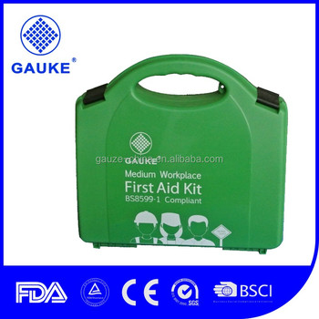 GKB700 BS8599 and HSE First Aid Kits PP Plastic Empty Box