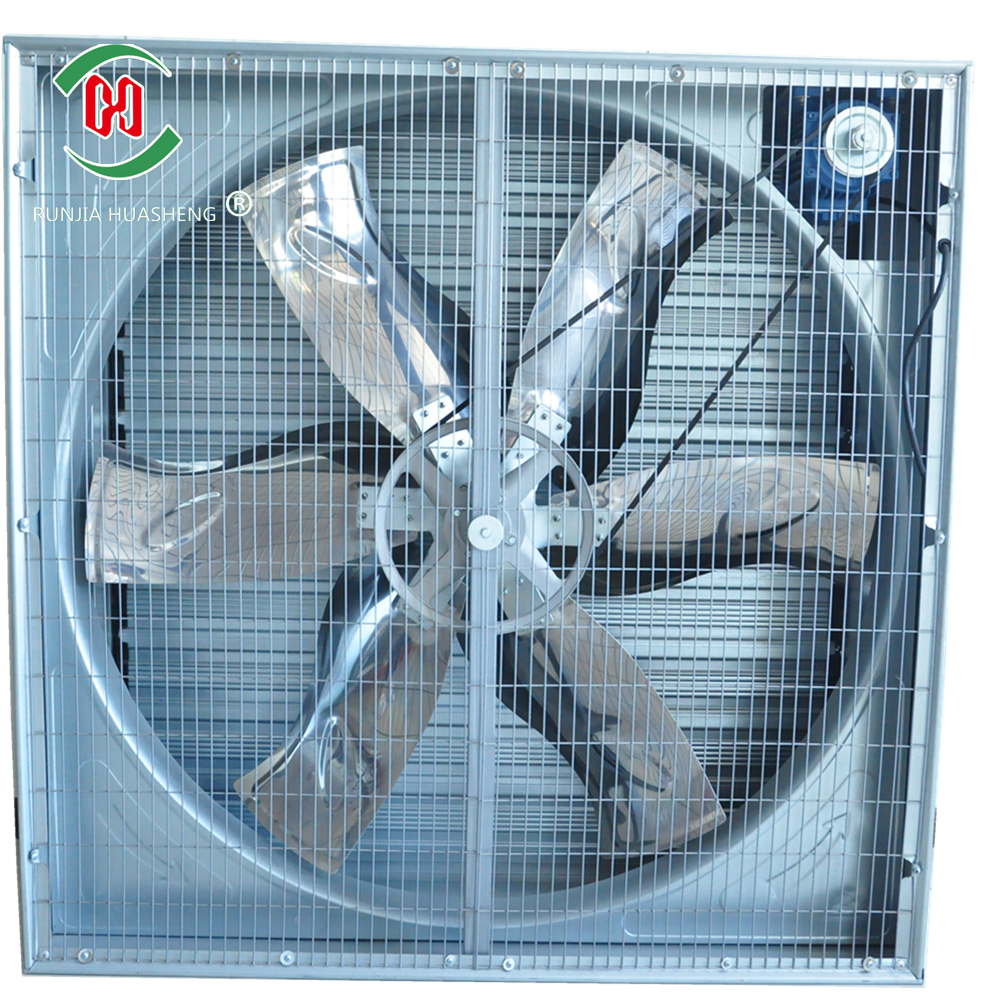 qingzhou huasheng new designwall mounted exhaust stand ventilation cooling ind Trustworthy China supplier exhaust cooling fan