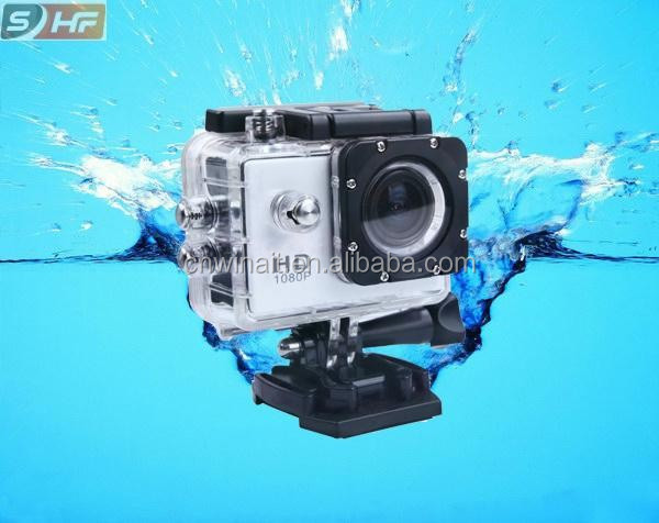 Wholesale sports DV full micro wireless video camera hd 1080p with 170 degree wide angle lens waterproof action camera DV-S8