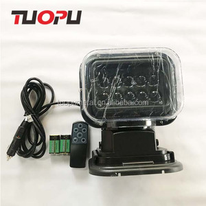Marine supplier 12V xenon remote control searchlight for sale